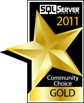 2011 SQL Server Magazine Community Choice